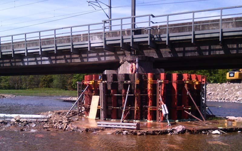 Lamington Viaduct Emergency Works